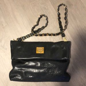 TORY BURCH 3 WAY leather CROSSBODY